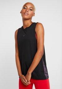 Nike Performance - DRY TANK - Funkční triko - black - 0