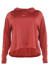 Nike Performance - GLAM MID PLUS - T-shirt sportiva - cedar/metallic gold - 3