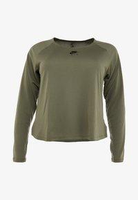 Nike Performance - AIR PLUS - Tekninen urheilupaita - medium olive/black - 3