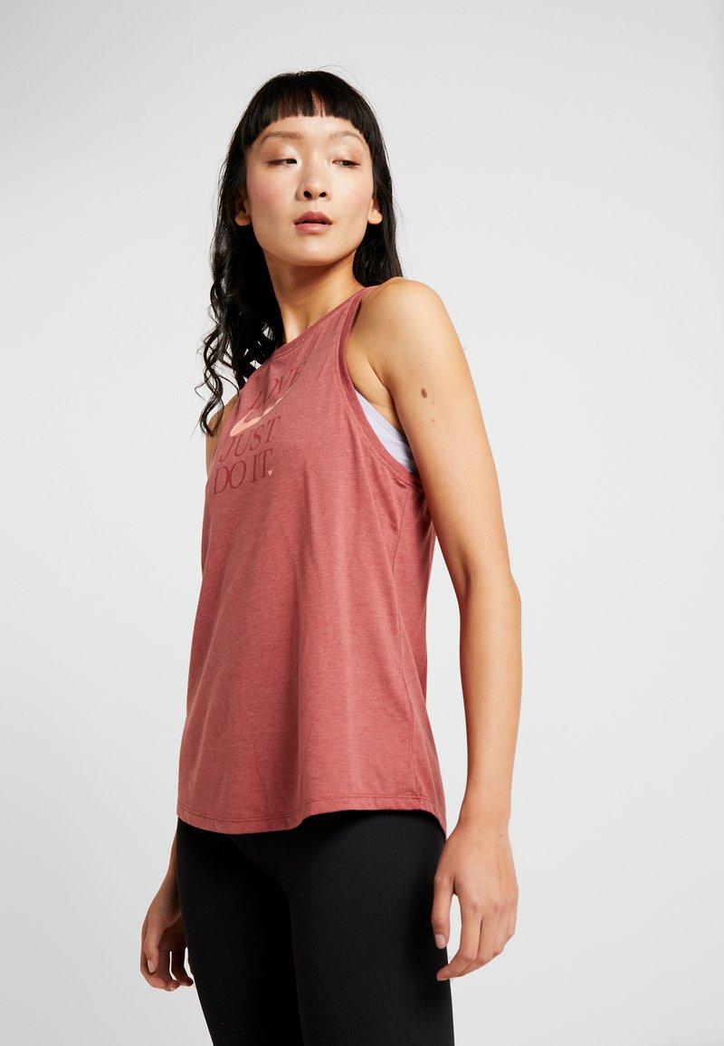 Nike Performance - DRY TANK YOGA  - T-shirt de sport - dark red