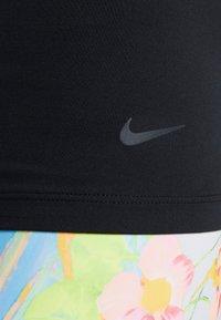 Nike Performance - THE GET FIT TANK - T-shirt sportiva - black/black - 4