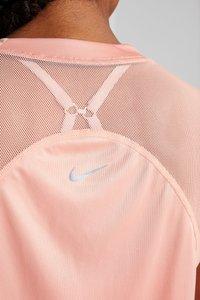 Nike Performance - DRY MILER - Printtipaita - pink quartz/metallic silver - 6