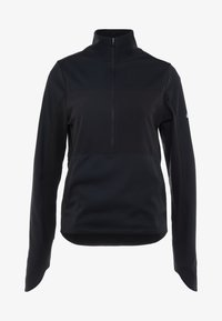 Nike Performance - REPEL TOP MIDLAYER - Bluza z polaru - black/silver - 7