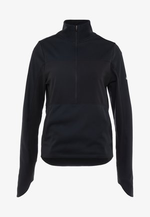 REPEL TOP MIDLAYER - Fleece trui - black/silver