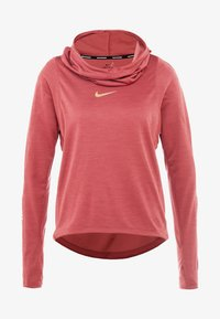 Nike Performance - GLAM MIDLAYER - Camiseta de deporte - cedar/metallic gold - 4