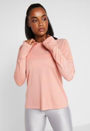 DRY MILER  - Sportshirt - pink quartz/metallic silver