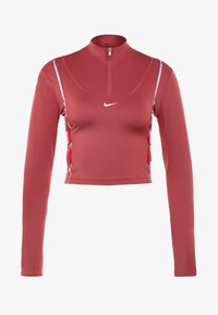 Nike Performance - HYPERWARM - Sports shirt - cedar/metallic silver - 5