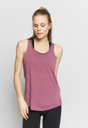 YOGA TWIST TANK - Top - villain red heather