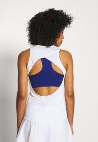 Nike Performance - TANK - Top - white/off noir - 2