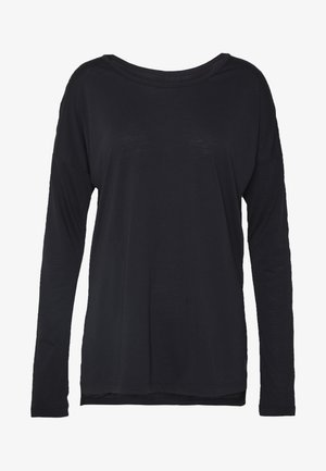 YOGA LAYER TOP - Funktionströja - black
