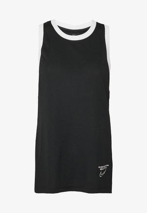 DRY TOP - Sports shirt - black/white