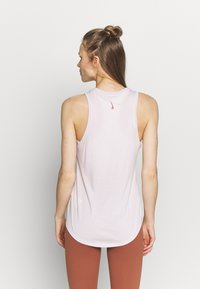 Nike Performance - DRY TANK YOGA - Treningsskjorter - barely rose/summit white - 2