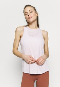Nike Performance - DRY TANK YOGA - Treningsskjorter - barely rose/summit white - 0