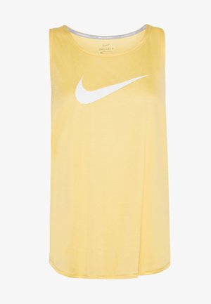 TANK RUN - Sports shirt - topaz gold/reflective silver