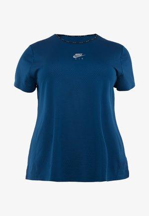 AIR PLUS - Camiseta estampada - valerian blue/silver