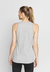 Nike Performance - DRY TOM TANK - Camiseta de deporte - grey heather - 2