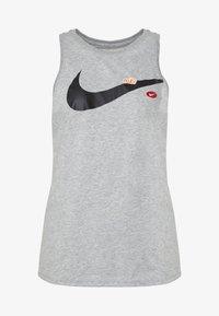 Nike Performance - DRY TOM TANK - Camiseta de deporte - grey heather - 3