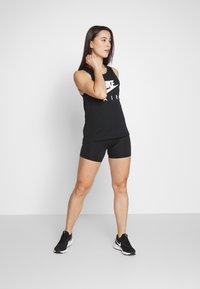 Nike Performance - W NK AIR  - Camiseta de deporte - black/white - 1