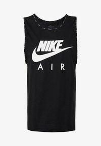 Nike Performance - W NK AIR  - Camiseta de deporte - black/white - 4