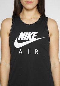 Nike Performance - W NK AIR  - Camiseta de deporte - black/white - 5
