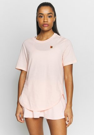 TEE COURT - T-shirt basic - washed coral