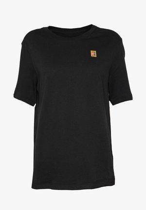 TEE COURT - Basic T-shirt - black