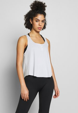 YOGA LUXE TANK - Sports shirt - aura/platinum tint