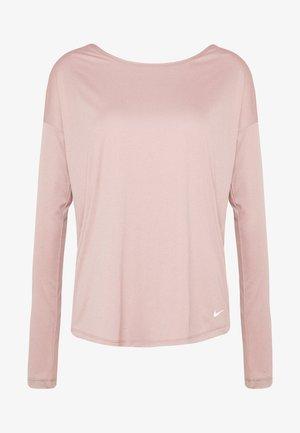 DRY ELASTIKA - Camiseta de deporte - smokey mauve/white/pure platinum