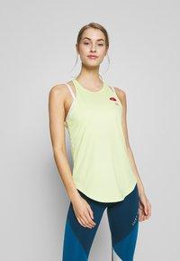 Nike Performance - Sports shirt - limelight - 0