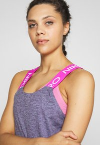 Nike Performance - DRY - Toppi - cerulean/fire pink/black/white - 3