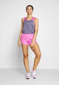 Nike Performance - DRY - Toppi - cerulean/fire pink/black/white - 1
