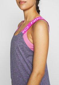 Nike Performance - DRY - Toppi - cerulean/fire pink/black/white - 5