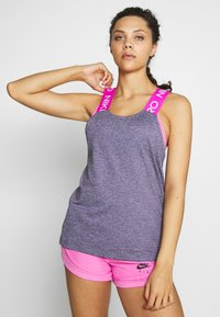 Nike Performance - DRY - Toppi - cerulean/fire pink/black/white - 0