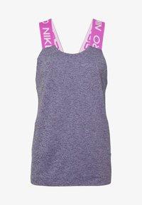 Nike Performance - DRY - Toppi - cerulean/fire pink/black/white - 4