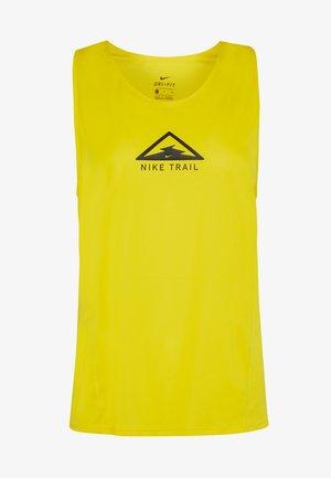 CITY SLEEK TANK TRAIL - Treningsskjorter - speed yellow/black/black