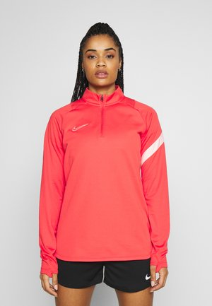 DRY - Fleece jumper - track red/washed coral
