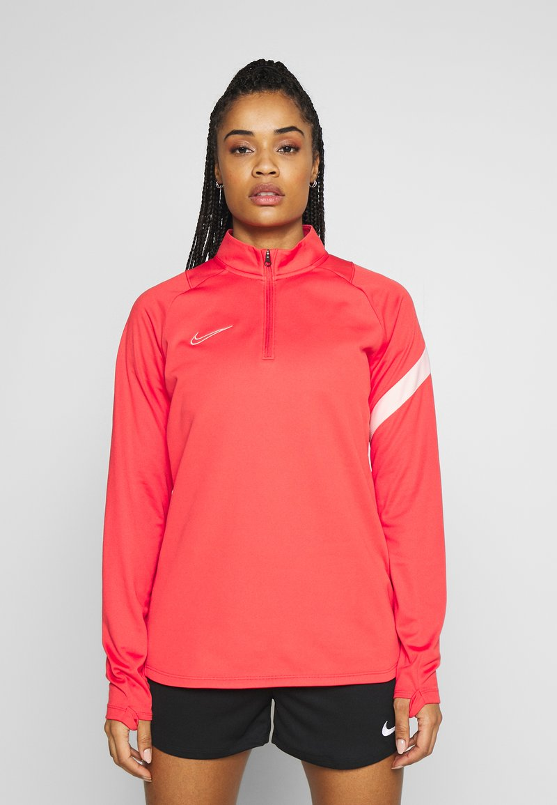 Nike Performance - DRY - Fleece jumper - track red/washed coral