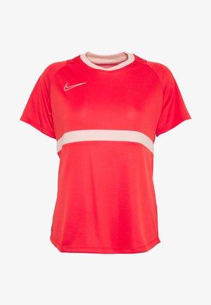 DRY - Camiseta estampada - track red/washed coral