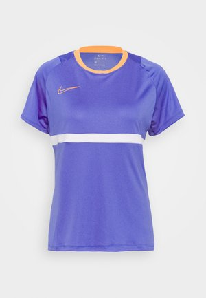 DRY - Camiseta estampada - sapphire/white/topaz gold
