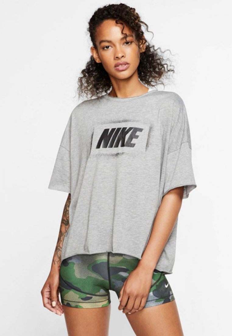 Nike Performance - T-Shirt print - grey