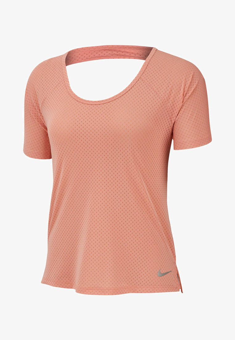 Nike Performance - BREATHE MILER - Print T-shirt - light pink