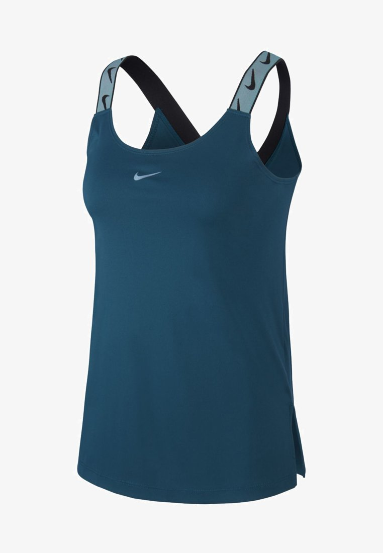 Nike Performance - TANK - Top - midnight turquoise