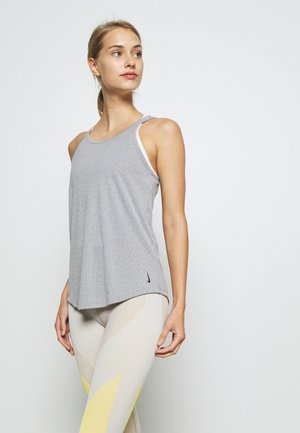 YOGA STRAPPY TANK - Sports shirt - black
