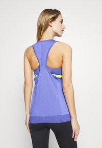 Nike Performance - W NK INFINITE TANK - Sportshirt - sapphire/light thistle - 2