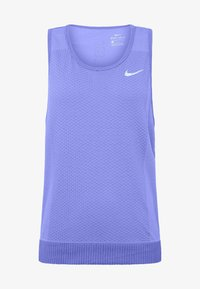 Nike Performance - W NK INFINITE TANK - Sportshirt - sapphire/light thistle - 3
