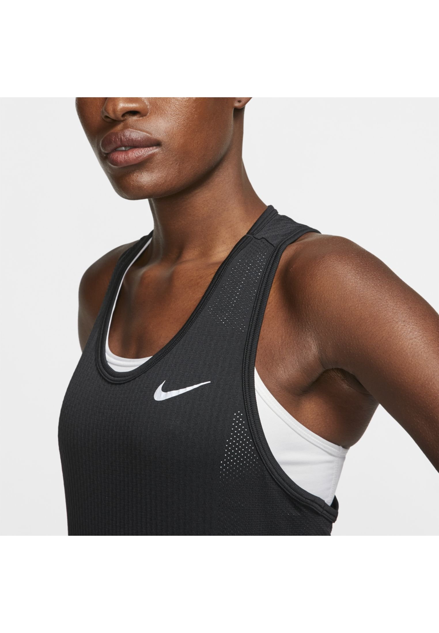 Nike Performance W Nk Infinite Tank - Funktionströja Black