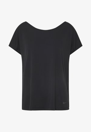 DRY ELASTIKA - T-Shirt print - black/thunder grey
