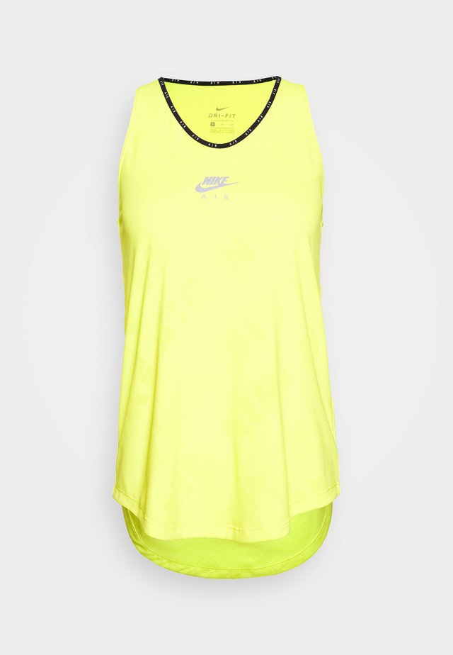 AIR TANK - T-shirt sportiva - opti yellow/reflective silver