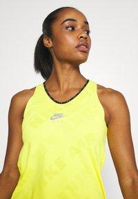 Nike Performance - AIR TANK - Treningsskjorter - opti yellow/reflective silver - 3