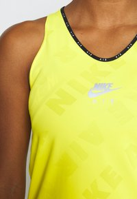 Nike Performance - AIR TANK - Treningsskjorter - opti yellow/reflective silver - 5